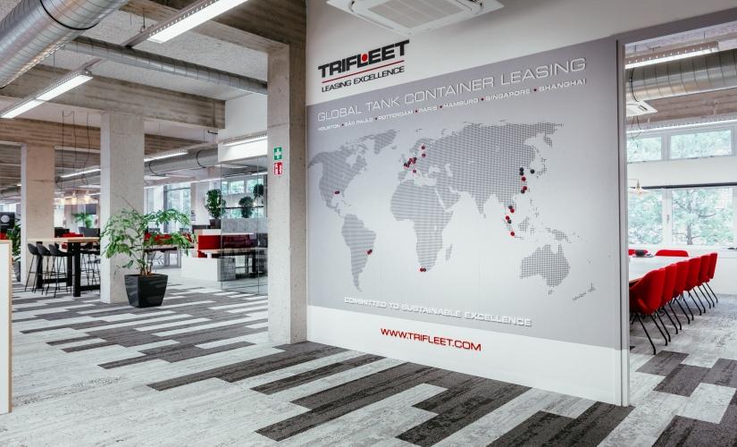 Interieur Trifleet Dordrecht. Interieurontwerp door Esther Canisius